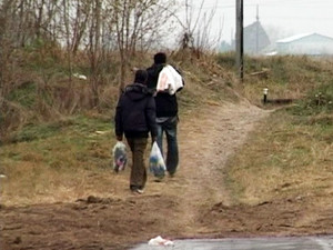 Migranti pokušali peške da pređu granicu